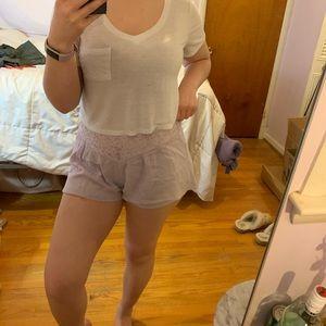 Mimi chica lavender shorts